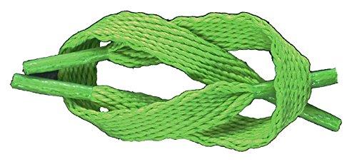 Scarpe Da Ginnastica Classiche Piatte Da 3/8 (10mm) Di Marca Tz Stivali Di Scarpe E Lacci Di Avvio Da Skate Verde Lime