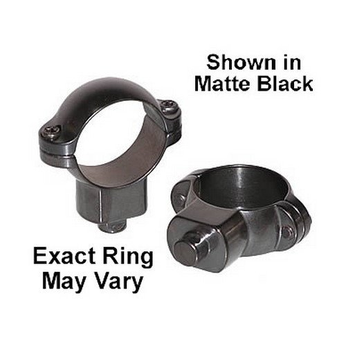 Leupold Quick Release Riflescope Rings, 1in Diameter, High, Matte ()