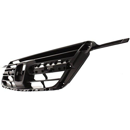 Diften 102-A8485-X01 - New Grille Insert Grill Matte dark gray Honda CR-V 2004 HO1200159 71121S9A003 (2003 Honda Crv Grill compare prices)