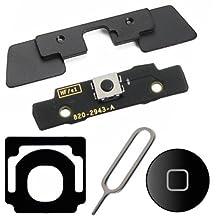 Bislinks® 5 in 1 Internal Outside Home Button Keypad Keyboard Bracket Black For iPad 2