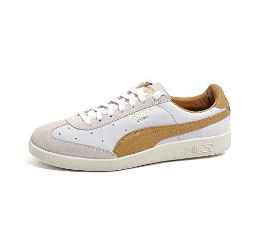 PUMA Madrid Tanned Sneaker Grün F02 Bianco