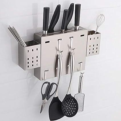 Accessori Da Cucina Da Parete.Portacoltelli Da Parete In Acciaio Inox 304 Portacoltelli Da