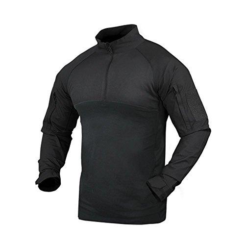 Condor Combat Shirt, Black (X-Large)