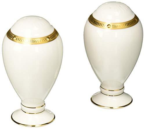 - Noritake Rochelle Gold 3-1/4-inch Salt & Pepper Shakers