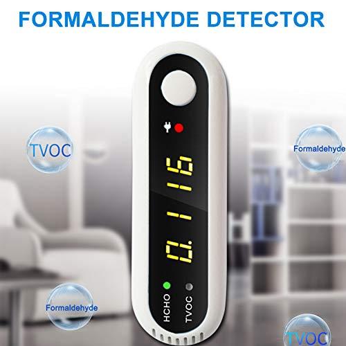 Abboard Raumluftqualit/ätsmonitor Formaldehyddetektor Luftqualit/ätsmonitor USB CO2 Kohlendioxid Luftqualit/ätsmesser Datenlogger Messger/ät LCD-Detektor