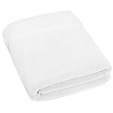 Pinzon Luxury 820-Gram Bath Sheet - White