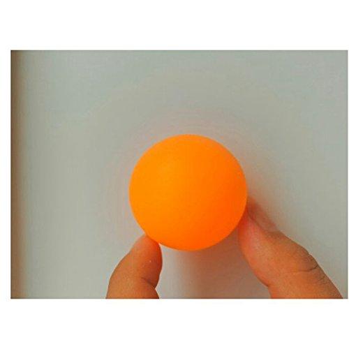 BeesClover 1セット/144個 ノーワード38mm 卓球ボール 高度なトレーニング ピンポンボール オレンジ B07Q572WMD