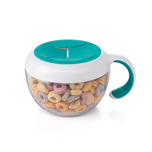 OXO Tot Flippy Snack Cup with Travel Lid - Teal