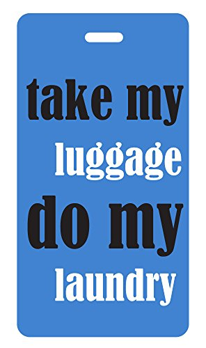 - Luggage Tag - do my laundry (Blue 304)