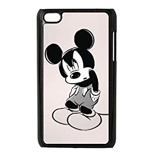 Minnie Mouse For Ipod Touch 4 Case Cell phone Case Yzaa Plastic Durable Cover