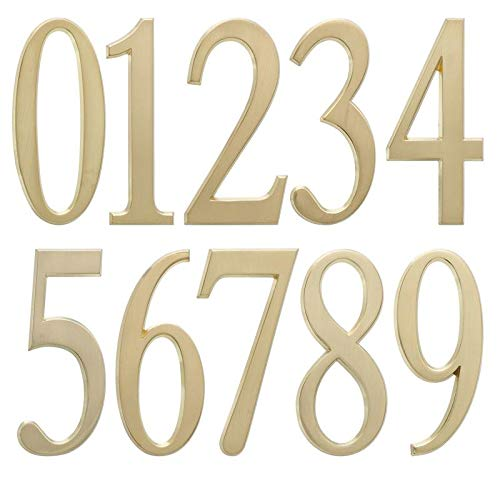 Whitehall Products DeSign-it Standard Plaque, Number
