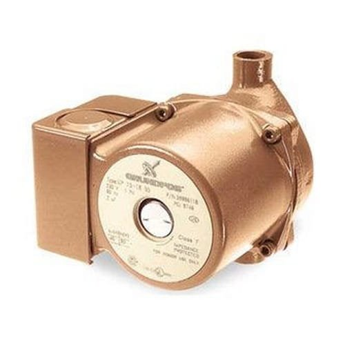 Grundfos UP 15-18 B5 UP Series 1/25 Horsepower Bronze Hot Water Recirculation Pu, N/A by Grundfos