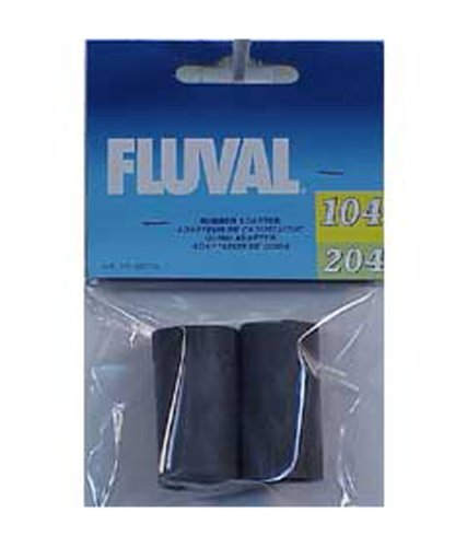Fluval A20016 Rubber Adapter for Ribbed Hosing, 2-Pack -