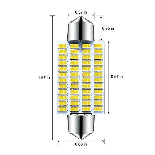 4Pcs-800-Lumens-Super-Bright-42mm-Festoon-Led-Bulb48-EX-Chipsets-569-578-211-2-212-2-DE3423-DE3425-Led-Bulb-for-Dome-lights-Xenon-White