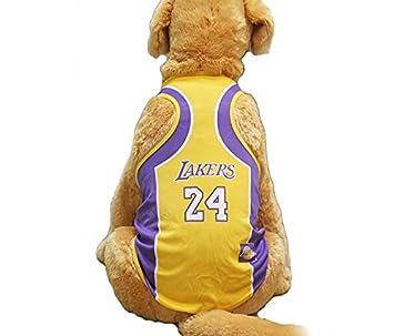KayMayn Camiseta de fútbol con licencia para perro, incluye 6 tallas, diseño de perro