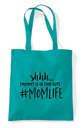 Ssh Is Bag In Mommy Momlife Tote Shopper Out Hashtag Time Emerald Statement grangqwAx