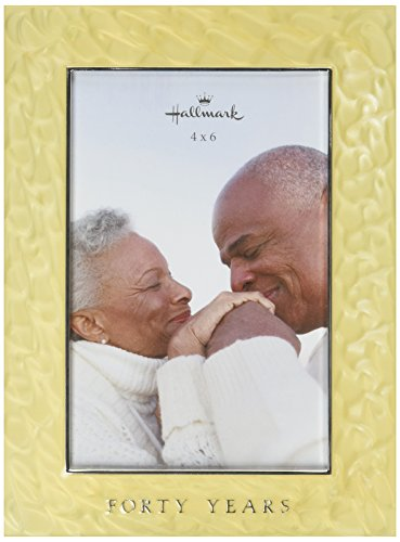 Ivy Lane Design Hallmark 40 Years Enamel Fill Frame