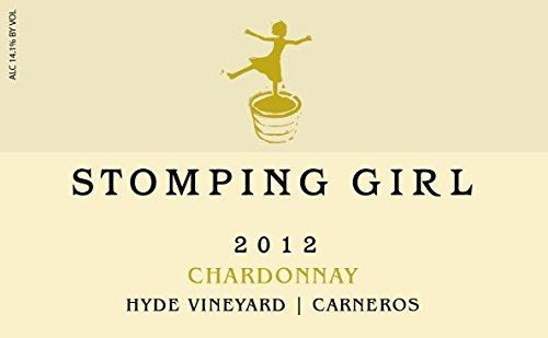 2012 Stomping Girl Hyde Vineyard Carneros Napa Chardonnay Wine 750 mL
