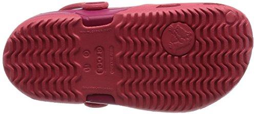 Crocs Electro Ii, Zuecos Niños Rosso (Coral/Raspberry)