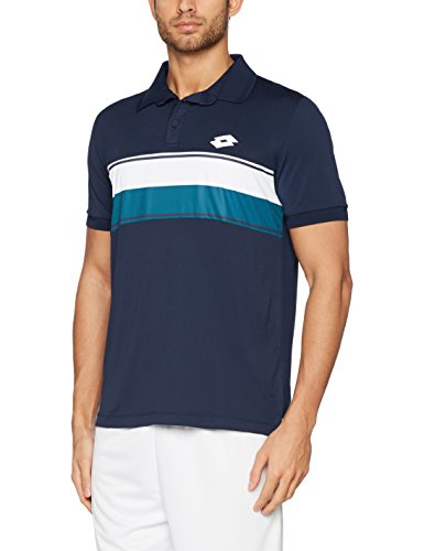 Lotto Sport COURT, Polo Tenis Hombre navy