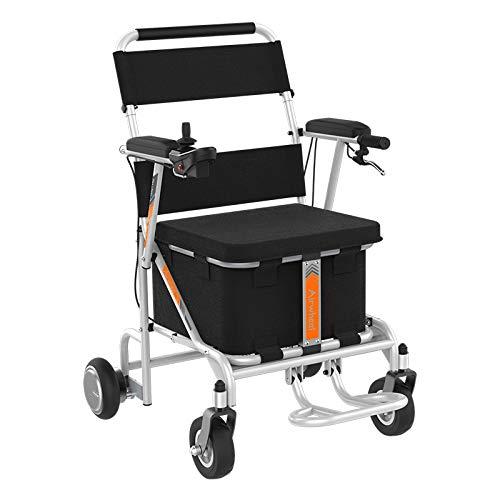 silla de ruedas eléctrica muy barata para interior y exterior liso