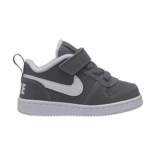 cool cool cool tdv 002 Grey B Nike white Gris Chaussons Chaussons Chaussons Mixte Court Borough Low qtWxPRF8