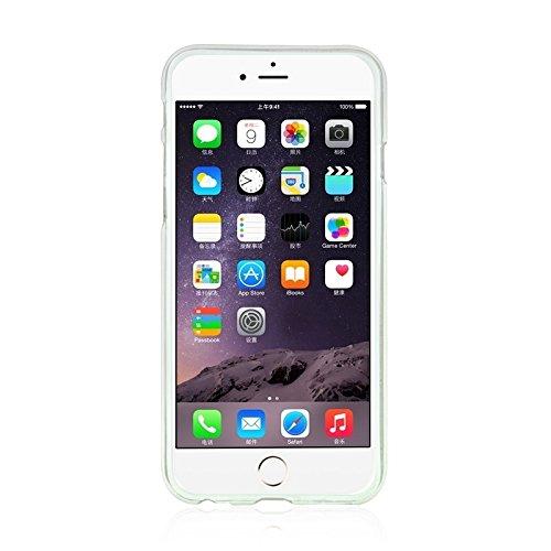 Phone Taschen & Schalen Für IPhone 6 Plus & 6S Plus Modische Ultradünn Diamond verkrustete TPU Schutzhülle ( Color : Transparent )