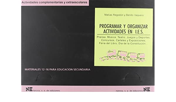 Amazon.com: Programar y organizar actividades en institutos ...