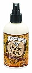 Poo-Pourri 8 Oz. Doody Free - Basil, Mandarin and Mint Scent Bathroom Toilet Air Freshner Odor Preventive Spray