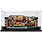 T-Club Acrylic Display Case for Lego 21319, Dustproof Clear Display Box Showcase for Lego 21319 Friends Central Perk (NOT Inc