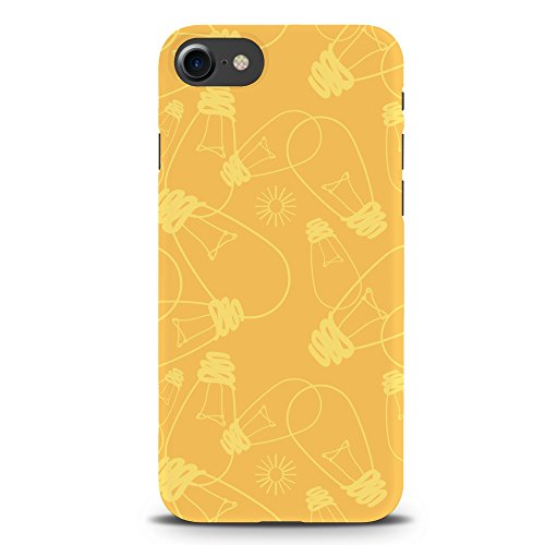 Koveru Back Cover Case for Apple iPhone 7 - Yellow bulbs Pattern