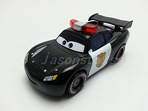 [Mattel Disney Pixar Cars Police Lightning McQueen Diecast Metal Toy Car 1:55 Loose New In Stock] (Mama Mia Costumes)