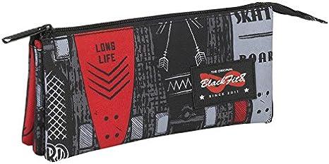 SAFTA Portatodo triple Blackfit8 Skate: Amazon.es: Juguetes y juegos