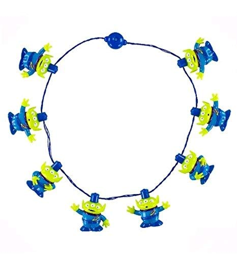 Disney Parks Toy Story Aliens Light-Up LED Glow Necklace