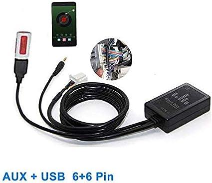 Auxiliary audio input interface Toyota Lexus radio Add iPod aux MP3 jack to 98
