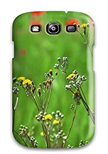 First-class Case Cover For Galaxy S3 Dual Protection Cover Beautiful Field Of Spring Flowers wangjiang maoyi