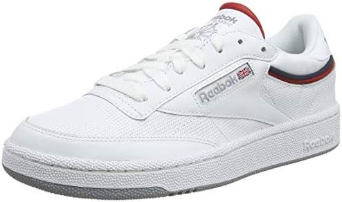 Reebok Men's Club C 85 Mu Gymnastics Shoes, SptltWhite
