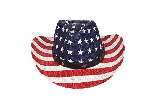 0196341839a A O International Western Style Shapeable Cowboy Hat