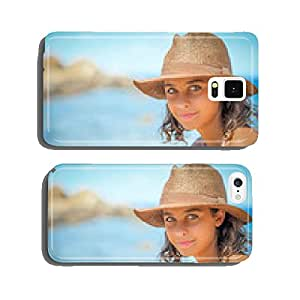 girl at the sea cell phone cover case iPhone5