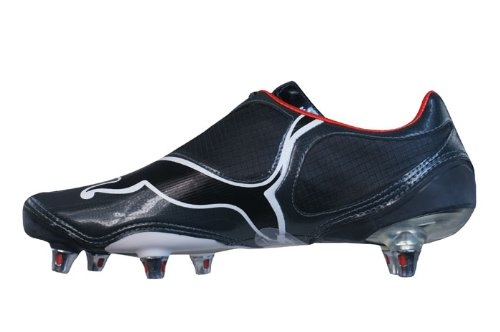 2889725c435 Puma V1-08 SG Football Boots Black White  Amazon.co.uk  Shoes   Bags