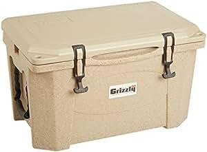 Grizzly 15 quart Sandstone/Tan Cooler