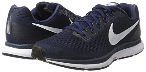 De Pegasus rappel Neutre Eu Bleu 40 Chaussures blanc Air D'obsidienne Indigo D'entranement Zoom Homme Pour 34 Nike 4nExPxH
