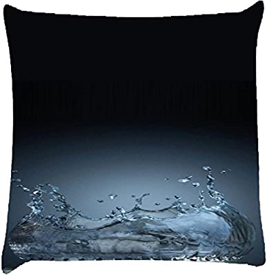 Agua Estufa Decoración del hogar Throw Sofá Coche Cojín Funda de almohada 16 x 16 pulgadas