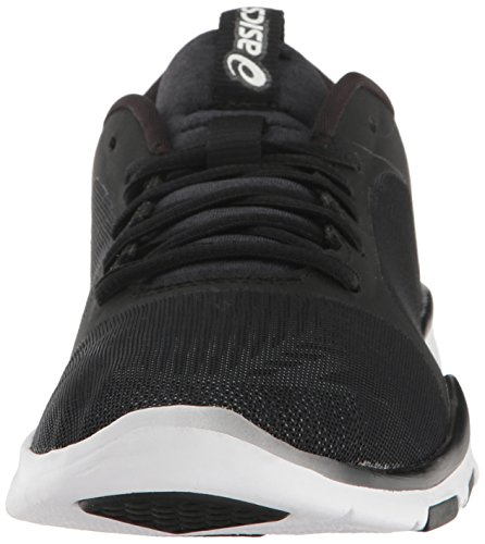 Asics Women's Gel-Fit Tempo 3 Cross-Trainer Shoe, Multi Black/Silver/White