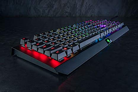 Razer BlackWidow X Chroma Mechanical Gaming Keyboard (Nordic Disposición – QWERTY)