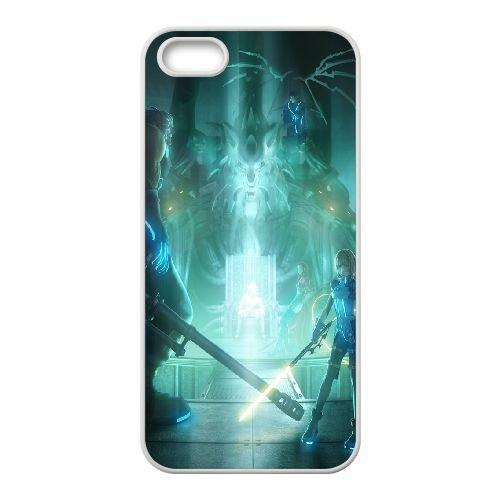 Final Fantasy coque iPhone 4 4S Housse Blanc téléphone portable couverture de cas coque EOKXLLNCD11406