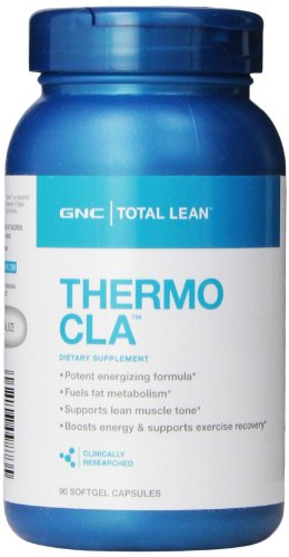 Supplément nutritionnel GNC total Thermo CLA, 90 comte