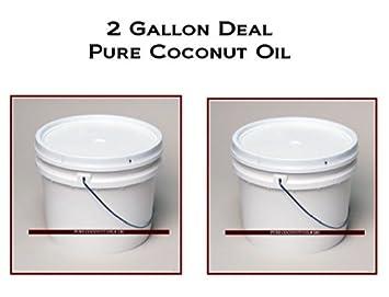 Amazon com : 100% PURE Coconut Oil Wholesale 2 Gallons : Beauty