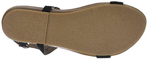 Inuovo Women's 8593 T-Bar Sandals Black (Black 16781933) KQfadRHtx