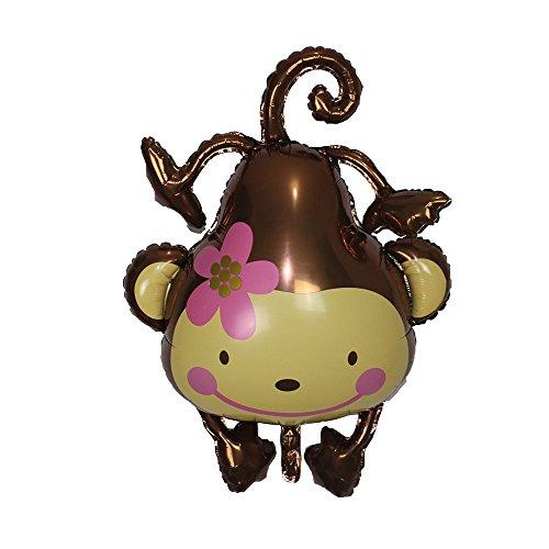 Birthday Party Foil Animal-Themed Balloon - -